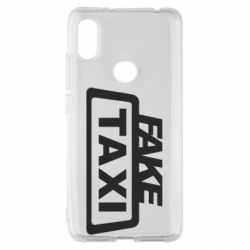 Чохол для Xiaomi Redmi S2 Fake Taxi