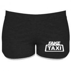 Женские шорты Fake Taxi