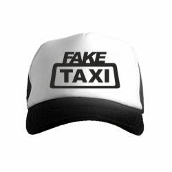 Дитяча кепка-тракер Fake Taxi