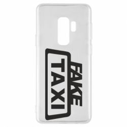Чохол для Samsung S9+ Fake Taxi