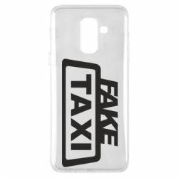 Чохол для Samsung A6+ 2018 Fake Taxi