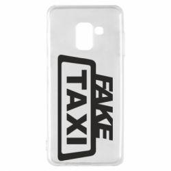 Чохол для Samsung A8 2018 Fake Taxi