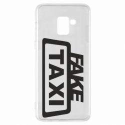 Чохол для Samsung A8+ 2018 Fake Taxi