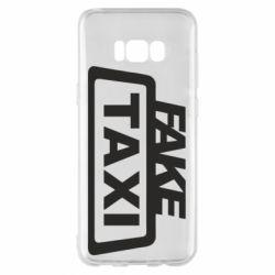 Чохол для Samsung S8+ Fake Taxi