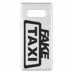 Чохол для Samsung Note 8 Fake Taxi