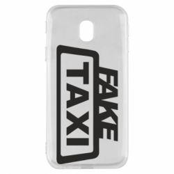 Чохол для Samsung J3 2017 Fake Taxi