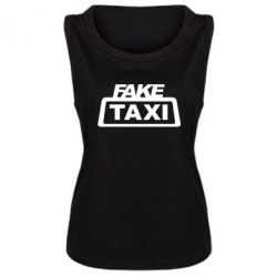 Женская майка Fake Taxi