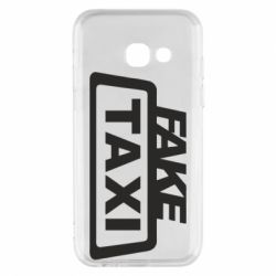 Чохол для Samsung A3 2017 Fake Taxi