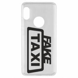 Чохол для Xiaomi Redmi Note 5 Fake Taxi
