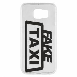Чохол для Samsung S6 Fake Taxi