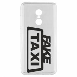 Чохол для Xiaomi Redmi Note 4x Fake Taxi