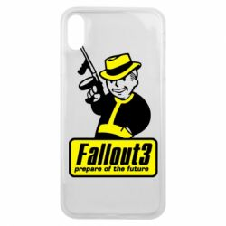 Чехол для iPhone Xs Max Fallout 3 Logo - FatLine