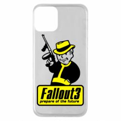 Чехол для iPhone 11 Fallout 3 Logo