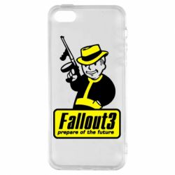 Чехол для iPhone5/5S/SE Fallout 3 Logo - FatLine