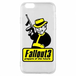 Чехол для iPhone 6/6S Fallout 3 Logo - FatLine