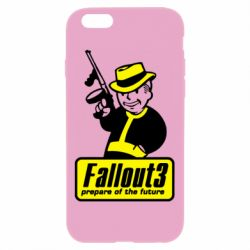 Чехол для iPhone 6 Plus/6S Plus Fallout 3 Logo - FatLine