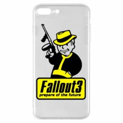 Чехол для iPhone 7 Plus Fallout 3 Logo - FatLine