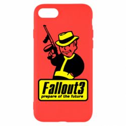 Чехол для iPhone 8 Fallout 3 Logo - FatLine