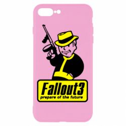 Чехол для iPhone 8 Plus Fallout 3 Logo - FatLine