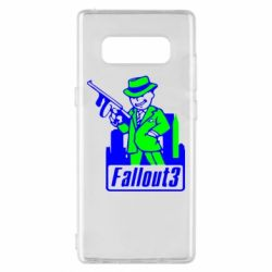 Чехол для Samsung Note 8 Fallout 3