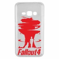 Чехол для Samsung J1 2016 Fallout 4 Art