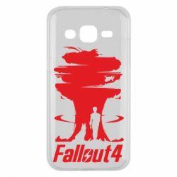 Чехол для Samsung J2 2015 Fallout 4 Art