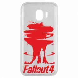 Чехол для Samsung J2 2018 Fallout 4 Art