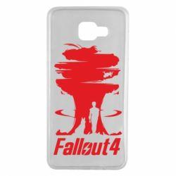 Чехол для Samsung A7 2016 Fallout 4 Art