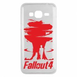 Чехол для Samsung J3 2016 Fallout 4 Art