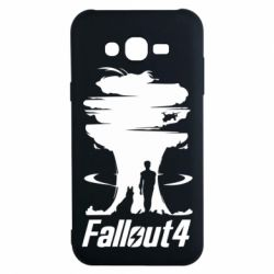 Чехол для Samsung J7 2015 Fallout 4 Art