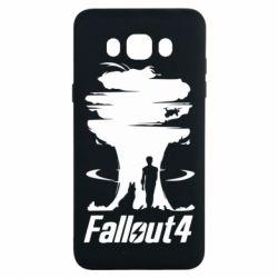 Чехол для Samsung J7 2016 Fallout 4 Art