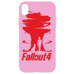 Чехол для iPhone XR Fallout 4 Art