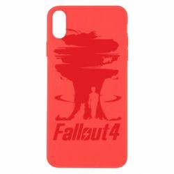 Чехол для iPhone Xs Max Fallout 4 Art