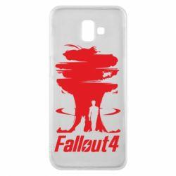 Чехол для Samsung J6 Plus 2018 Fallout 4 Art