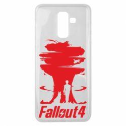 Чехол для Samsung J8 2018 Fallout 4 Art