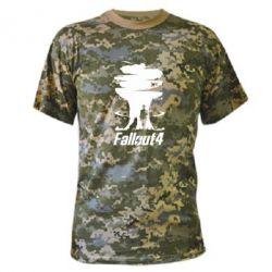 Камуфляжная футболка Fallout 4 Art - FatLine