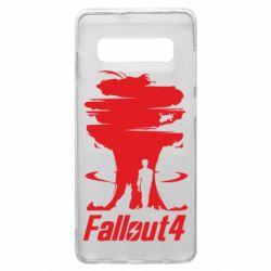 Чехол для Samsung S10+ Fallout 4 Art