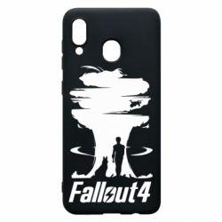 Чехол для Samsung A20 Fallout 4 Art