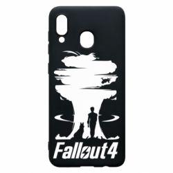 Чехол для Samsung A30 Fallout 4 Art