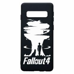Чехол для Samsung S10 Fallout 4 Art