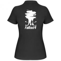 Женская футболка поло Fallout 4 Art