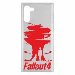 Чехол для Samsung Note 10 Fallout 4 Art