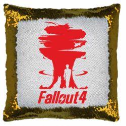 Подушка-хамелеон Fallout 4 Art