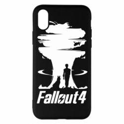 Чехол для iPhone X/Xs Fallout 4 Art