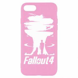 Чехол для iPhone 8 Fallout 4 Art