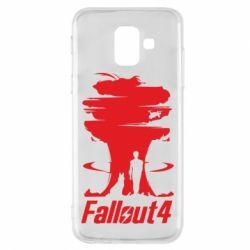 Чехол для Samsung A6 2018 Fallout 4 Art