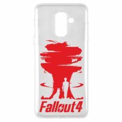 Чехол для Samsung A6+ 2018 Fallout 4 Art