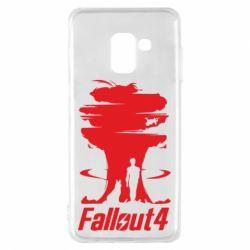 Чехол для Samsung A8 2018 Fallout 4 Art