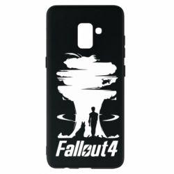 Чехол для Samsung A8+ 2018 Fallout 4 Art