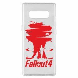 Чехол для Samsung Note 8 Fallout 4 Art
